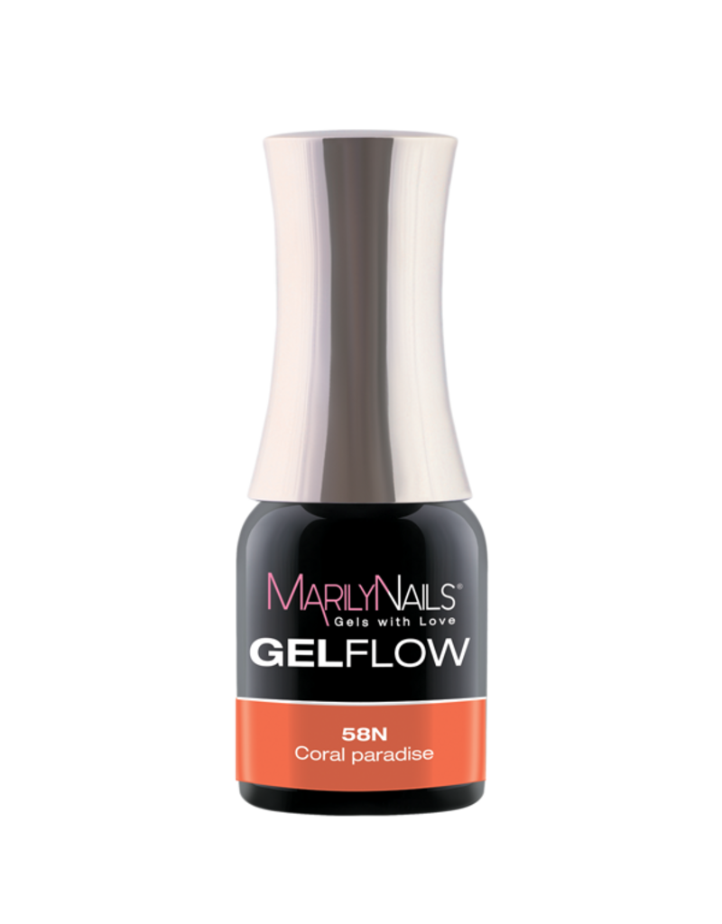 MarilyNails MN GelFlow - Coral Paradise #58