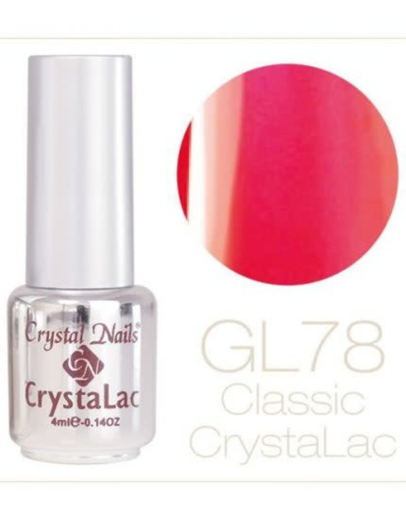 Crystal Nails CN Crystalac 4 ml  GL 78 (Glitter)