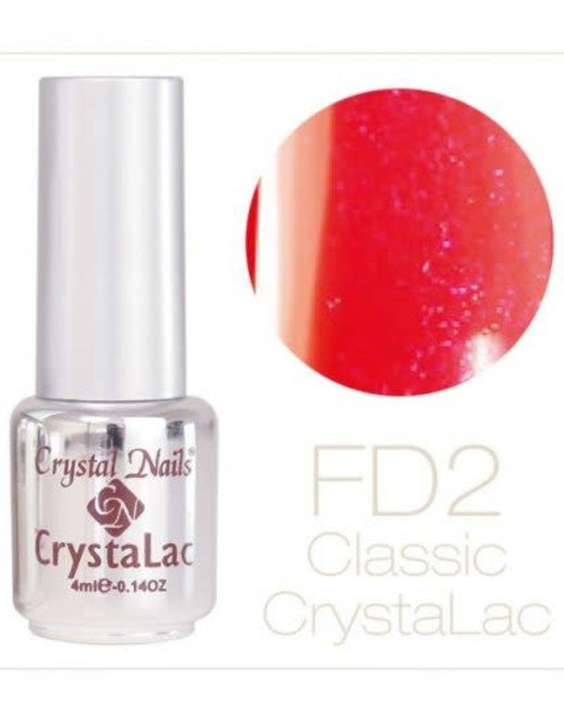 Crystal Nails CN Crystalac 4 ml FD 2 (Fairy Dust)