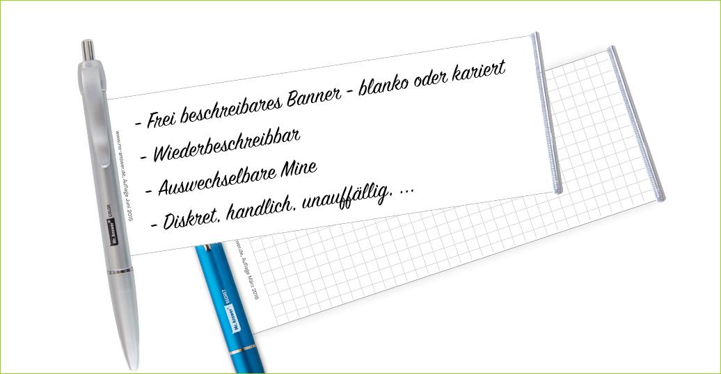 Vorteile Spicker-Kugelschreiber