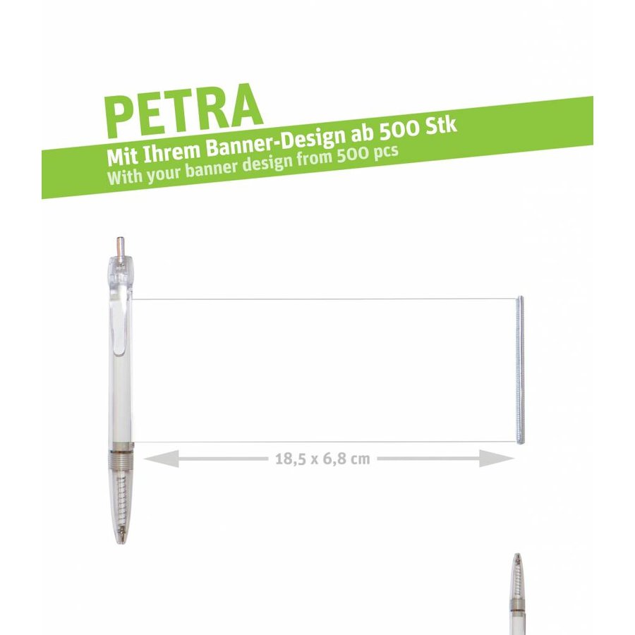 """PETRA """"clear transparent""""-2"""