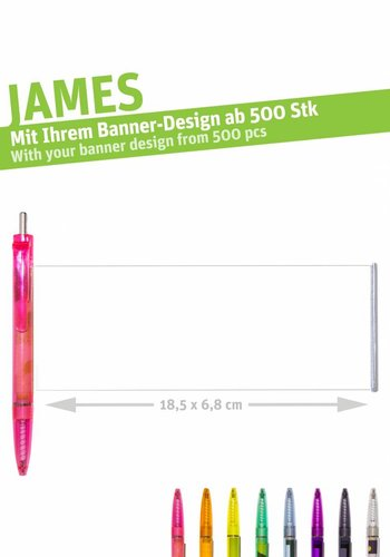 "JAMES ""color transparent""-15"