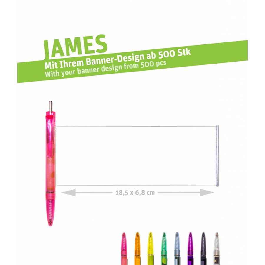 """JAMES """"color transparent""""-2"""