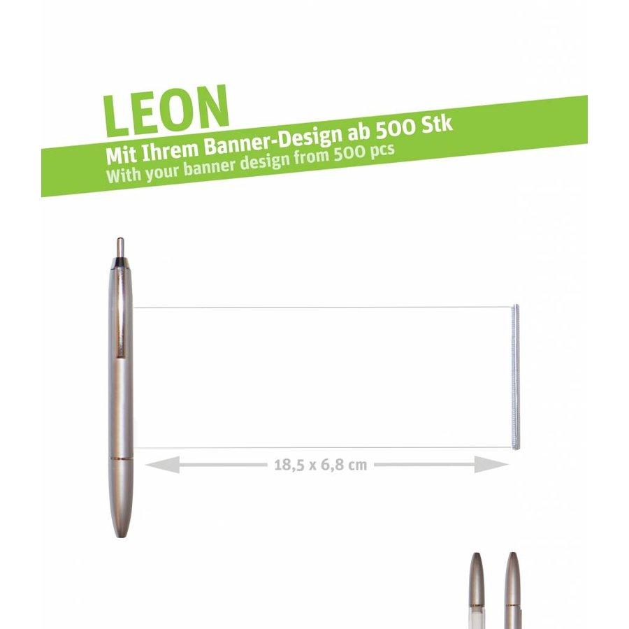 """LEON """"silver""""-2"""