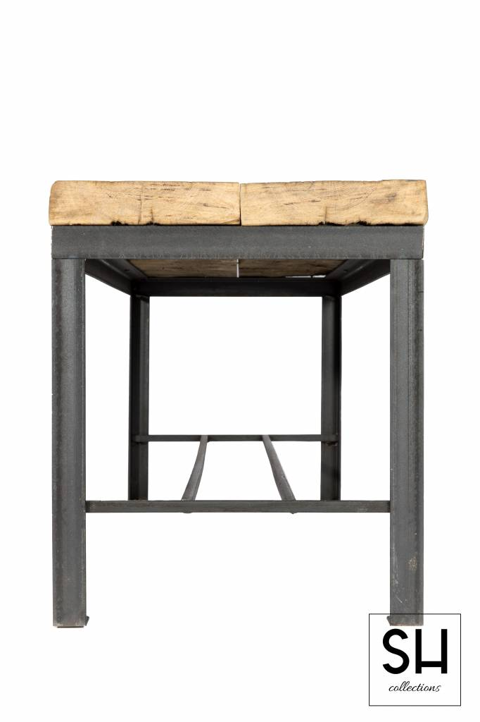 Sidetable Stalen Frame.Sidetable Van Shcollections