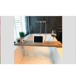 BeauWonen Bad plank met tablet sleuf (80x20x3cm)
