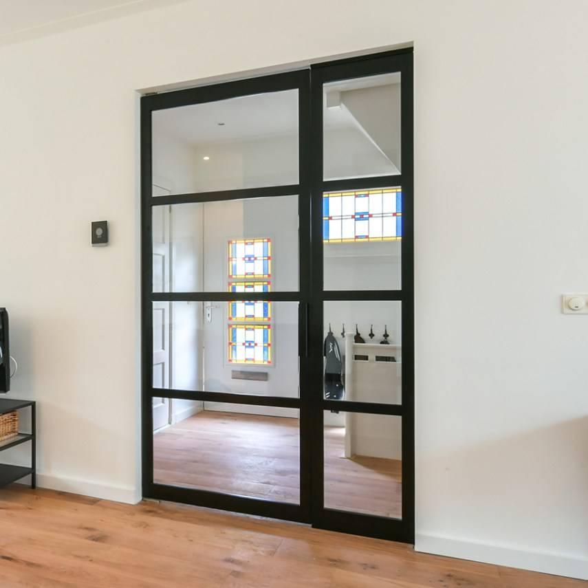 Enkele deur met smal zijpaneel Model 2578 (rechts)