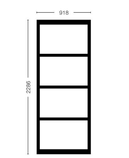 Vast Paneel Model 2315 - (918)