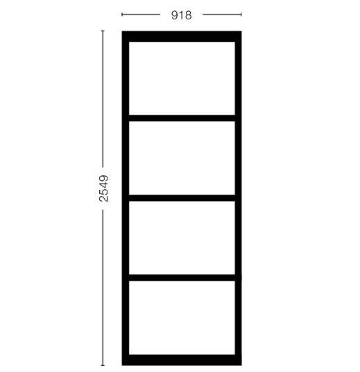 Vast Paneel Model 2578 - (918)