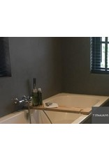 Badplank met tabletsleuf en wijnglas inkeping