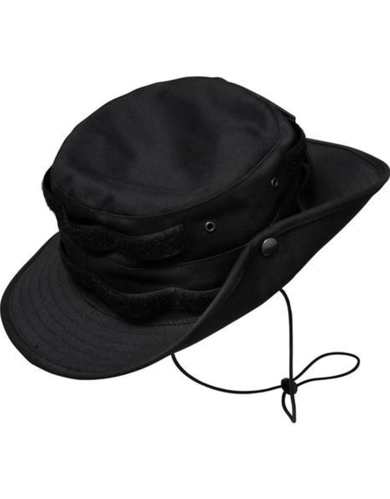 Army Boonie Hat Velcro - black - Cocaine Cowboys Online Shop by ... 576066561c0