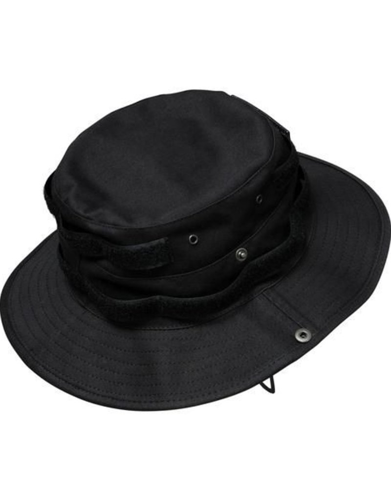 Army Boonie Hat Velcro - black - Cocaine Cowboys Online Shop by ... 626498806b4