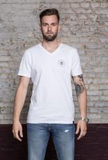 Herren T-Shirt Box Skull - weiss