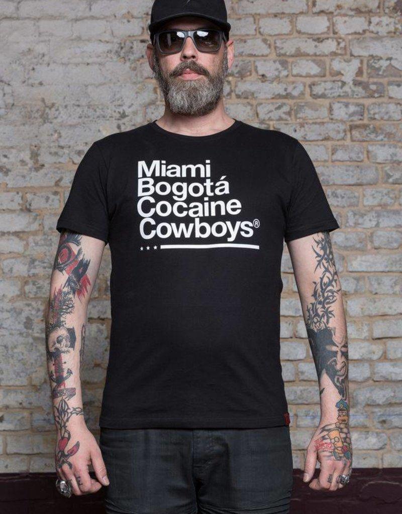 Herren T-Shirt Miami 2 Bogotá- schwarz