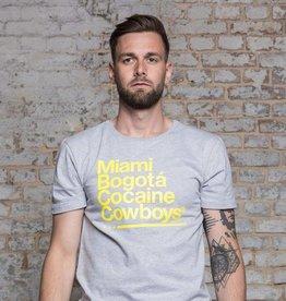 Herren T-Shirt Miami 2 Bogotá - grau