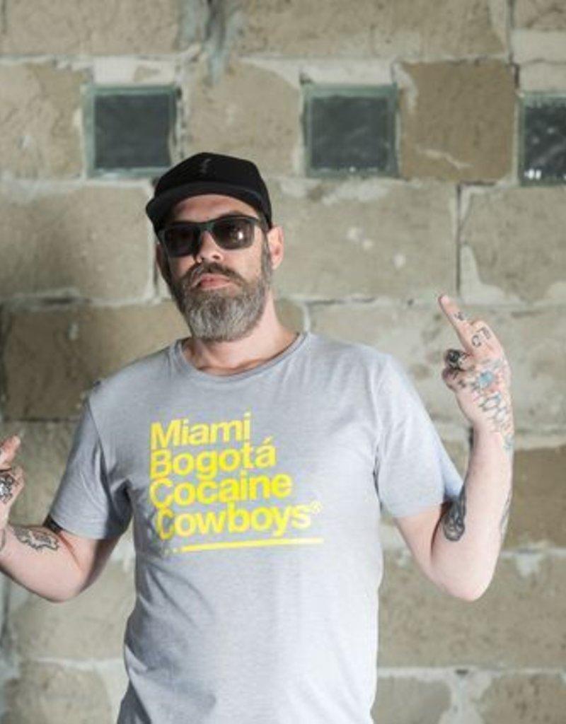 Herren T-Shirt Miami 2 Bogotá- grau