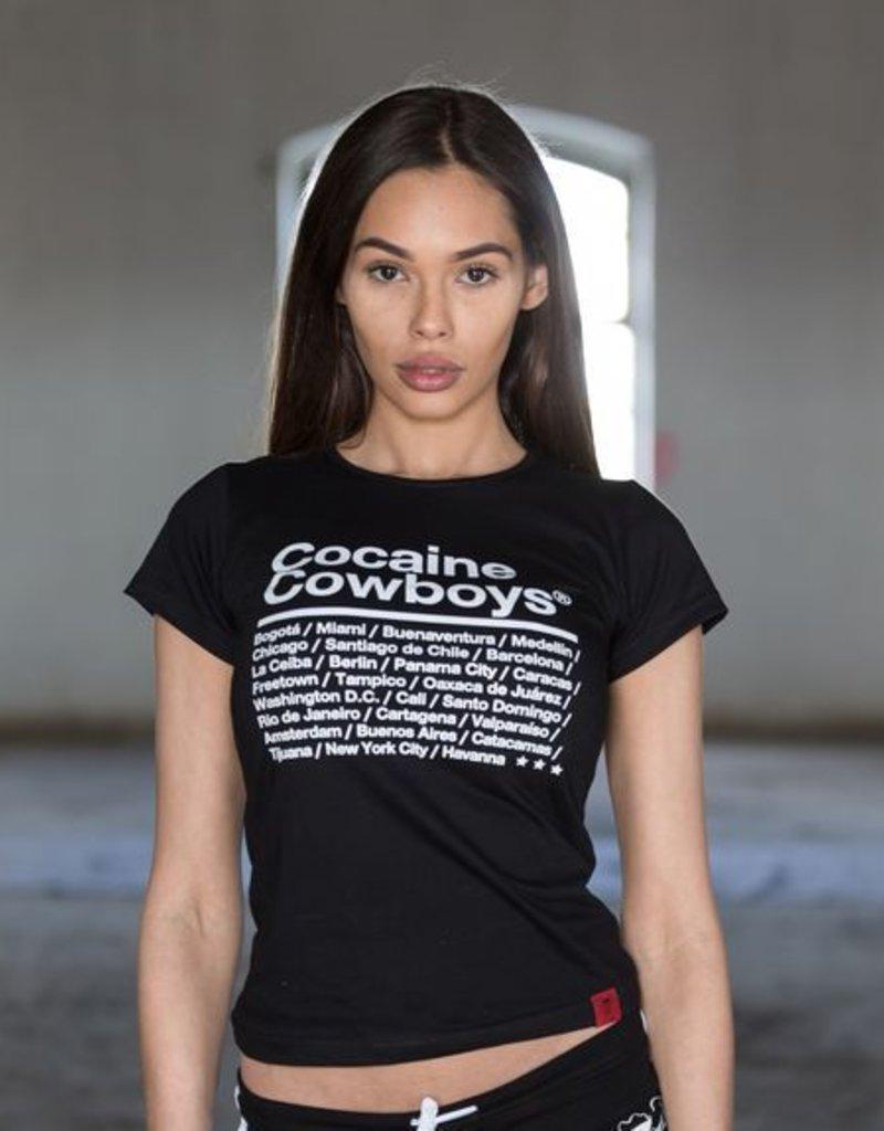 T-Shirt City Women 2018 - schwarz