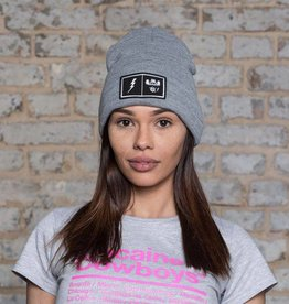 Patch Beanie - grey