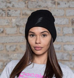 Black Lightning Beanie - black flash