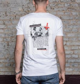 Herren T Shirt Blow – white