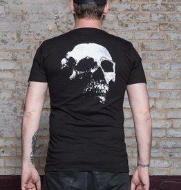Herren T-Shirt Skull – black