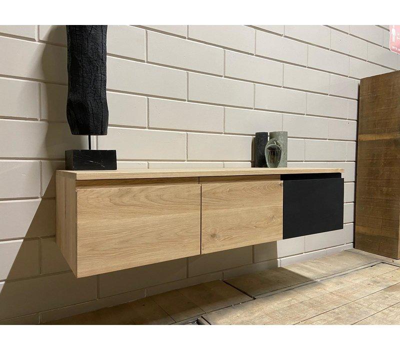 Oaks eiken tv-meubel Tate