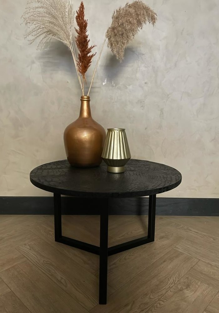 Black and Gold Salontafel Isa