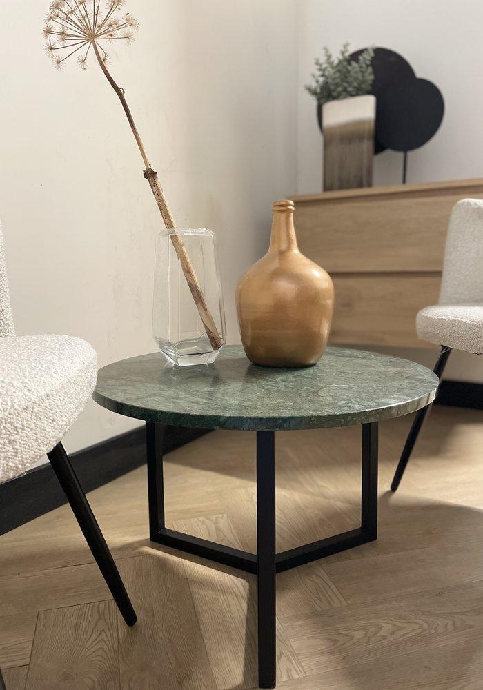 Marmeren salontafel Aiva - groen