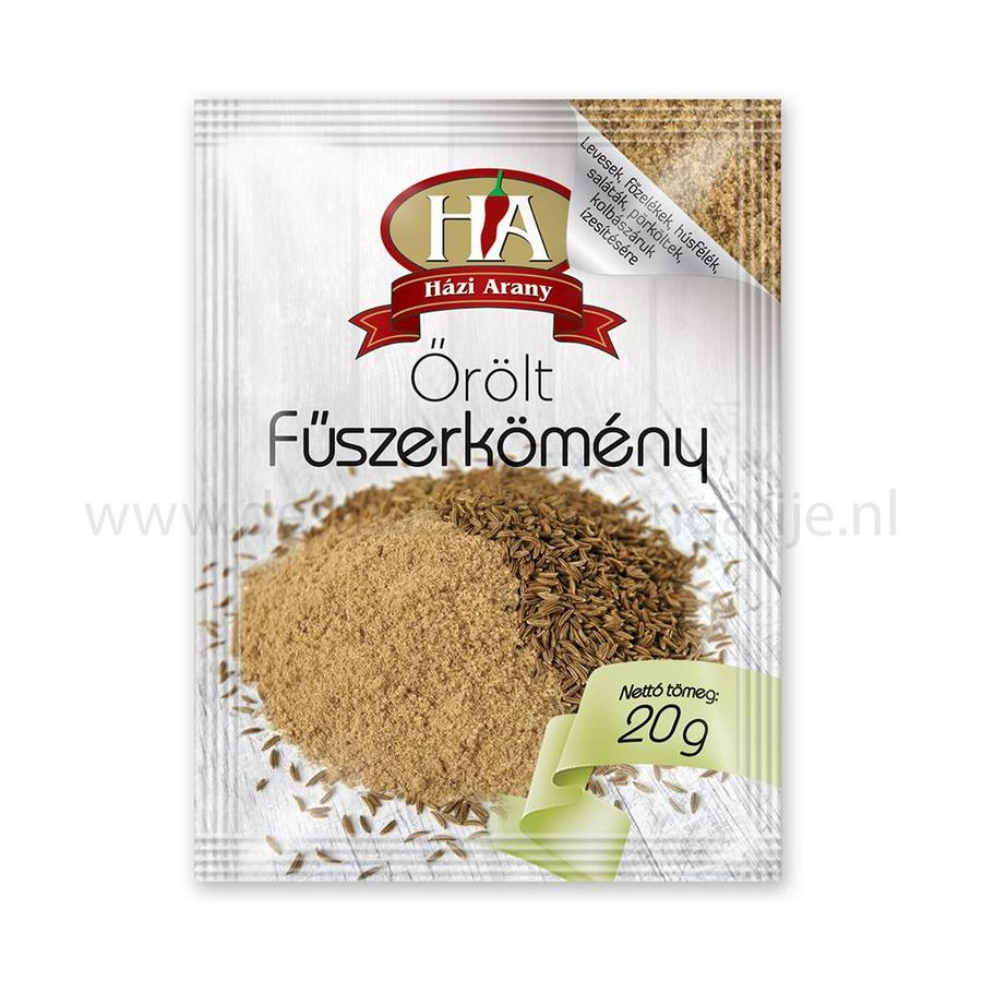 Ground caraway seed