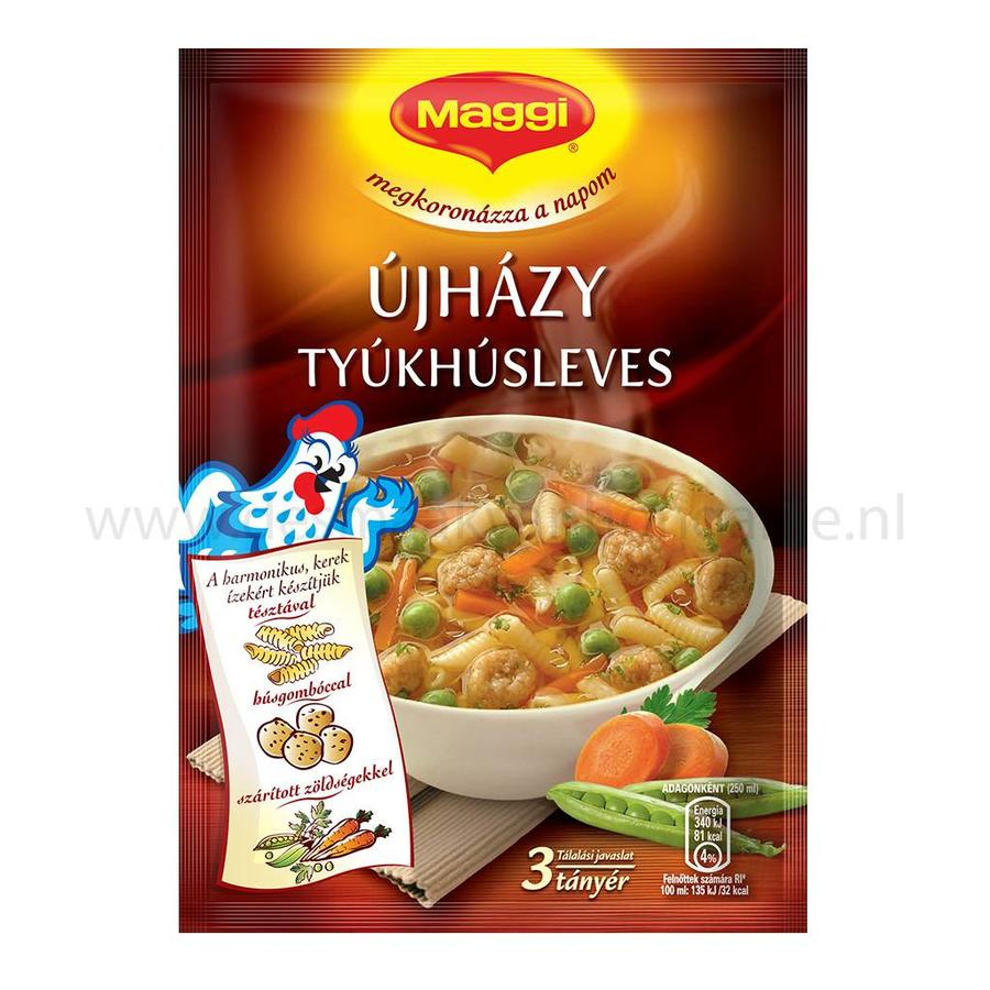 Újházy tyúkhúsleves chickensoup