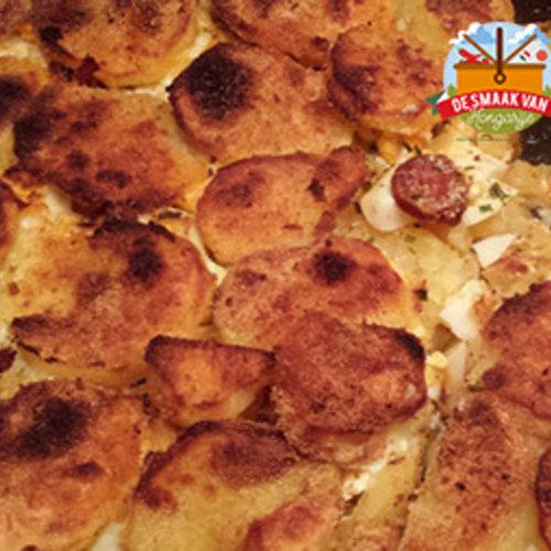 Layered potatoes - Rakott krumpli