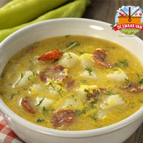 Rosztyókaleves soup