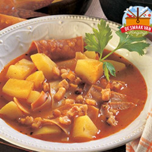 Lebbencsleves soup