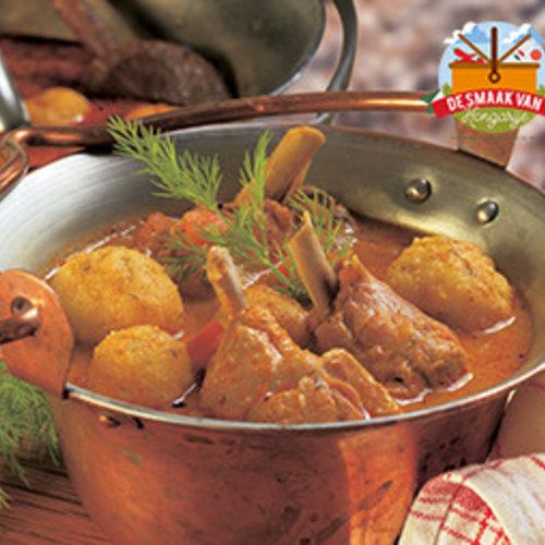 Paprika chicken - Paprikás Csirke