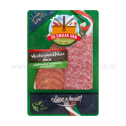 Házi Vastagkolbász mix sliced