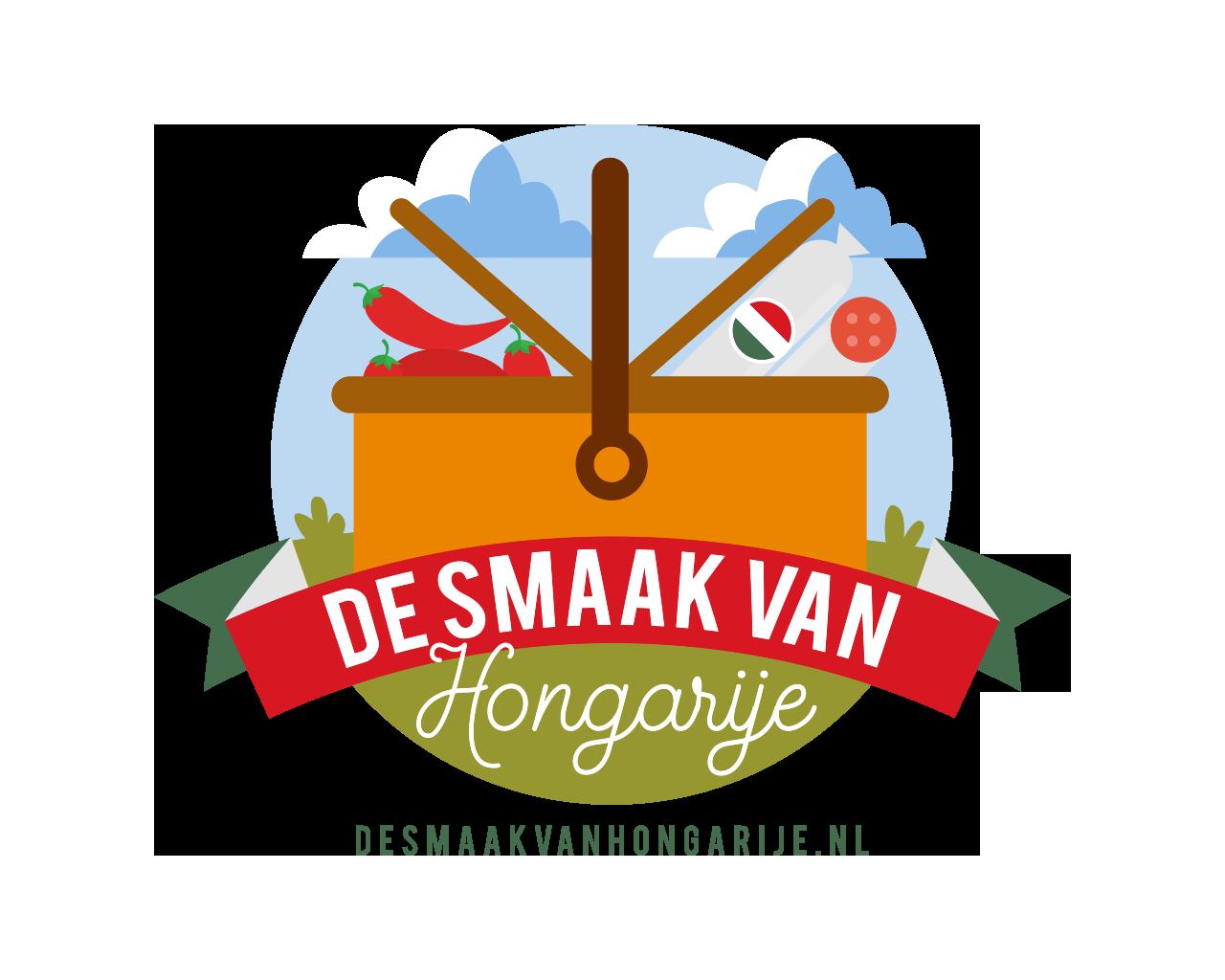 logo de smaak van Hongarije