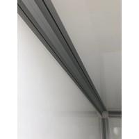 Nieuwe gesloten Henra Bakwagen 318 x 158 x 190 ( 2000kg ) tandemasser
