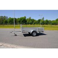 Nieuwe Anssems BSX1500 301x150cm ( 1500kg ) geremd enkelasser