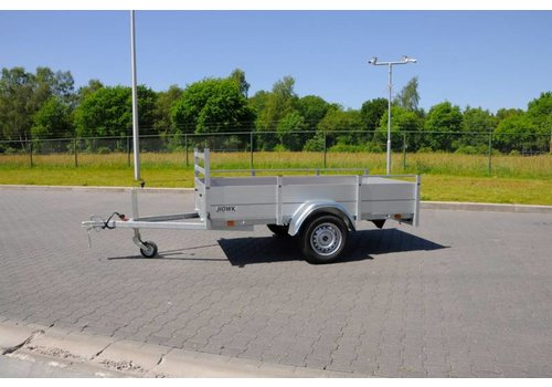 Anssems aanhangwagens Nieuwe Anssems BSX1500 301x150cm ( 1500kg ) geremd enkelasser