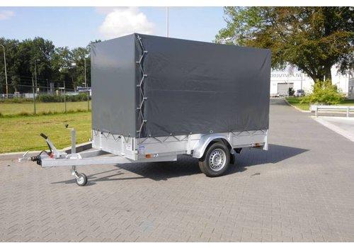 Anssems aanhangwagens Nieuwe Anssems BSX 1500kg met huif 301x150x210cm Enkelasser