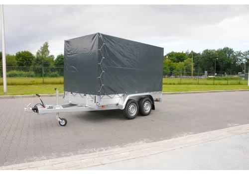 Anssems aanhangwagens Nieuwe Anssems BSX 2500 met huif 250x130x180cm ( 2500kg )