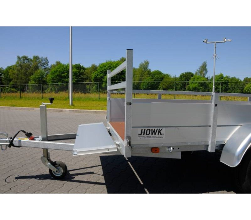 Nieuwe Anssems BSX Bakwagen 205x120cm 750KG Ongeremd