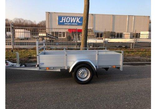 Anssems aanhangwagens Nieuwe Anssems BSX1350 251x130cm ( 1350kg ) enkelas geremd