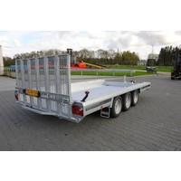 Hulco Terrax-3 machine transporter 394x180cm 3500kg klep 150cm
