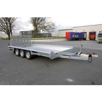 Hulco Terrax-2 machine transporter 294x150cm 3500kg met 150cm klep