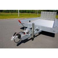 Hulco Terrax-2 machine transporter 294x180cm 3000kg met 100cm klep