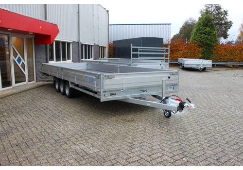 Hulco Aanhangwagens Hulco medax-3 plateauwagen 611x203 ( 3500kg )