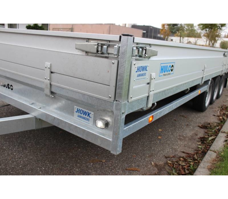 Hulco medax-3 plateauwagen 611x203 ( 3500kg )