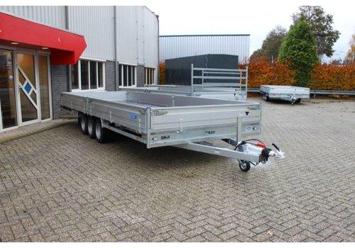 Hulco Aanhangwagens Hulco medax-3 plateauwagen 611x223 ( 3500kg )