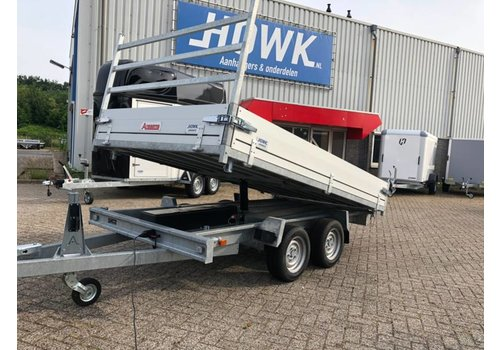 Anssems aanhangwagens Anssems KSX 3 zijdige kieper 305 x 178cm ( 3500kg )